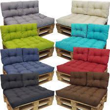 coussin pour canapé palette coussin palette de jardin et terrasse ebay
