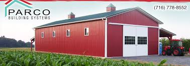 Pole Barns Rochester Ny Parco Building Systems Inc Post Frame Buildings In Western Ny