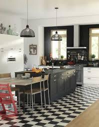 carrelage cuisine damier noir et blanc carrelage damier noir et blanc cuisine collection avec la cuisine