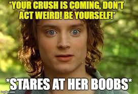 Frodo Meme - surpised frodo meme imgflip
