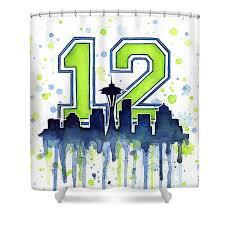 Curtains Seattle Seattle Seahawks Shower Curtains Fine Art America