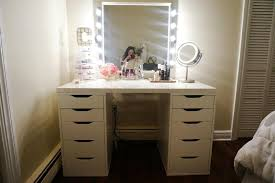 Bedroom Makeup Vanity With Lights Bedroom Makeup Vanity With Lights Style Rustzine Home Decor