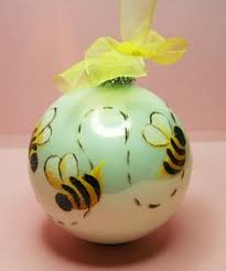 glass bumble bee ornament diy pssst martha who