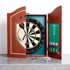 best dart board cabinet dartboard with cabinet kmart