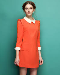 peter pan u201d collar dress styling for trendy girls u2013 designers