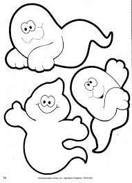 cute halloween ghost clipart image