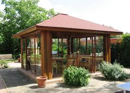 Beautiful Garden Design Ideas Wooden Pergolas And Gazebos - Backyard design idea