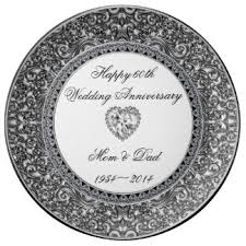 25th wedding anniversary plate custom wedding anniversary porcelain plates