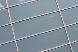 light blue gray color sle color swatch of jasper blue gray 4x12 glass subway tile for