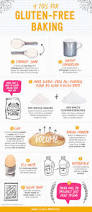 Cooking Infographic by Gluten Free Baking 9 Tips For Successful Gluten Free Baking