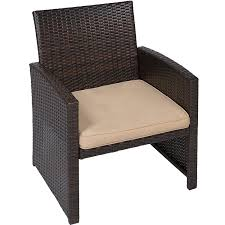 amazon com best choice products 4pc wicker outdoor patio