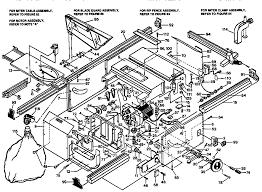 craftsman table saw parts model 113 craftsman model 315221850 saw table genuine parts