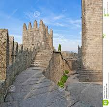 Castle Interior Guimaraes Castle Interior Guimaraes Portugal Stock Photo Image