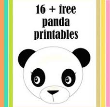 21 free printable panda gifts cards and toys round up panda