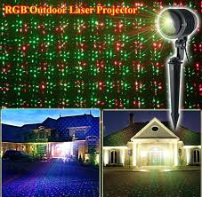 Outdoor Projector Lights Remote Controllable Rgb Laser Outdoor Garden Landscape Light