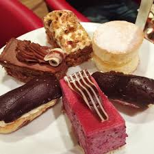 afternoon tea at patisserie valerie