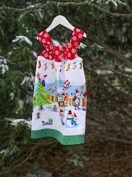 holly jolly gnomes dress