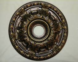 Bronze Ceiling Medallion by 23 Hand Painted Ceiling Medallion
