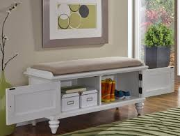 White Bedroom Bench With Storage Bench Mesmerizing Wooden Storage Benches For Outdoor Or Indoor