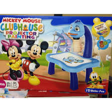 Mickey Mouse Table by Mickey Mouse Projector Painting Learning Table Activity Drawing