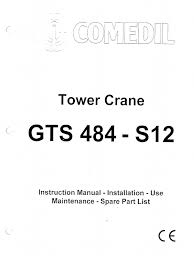 tower crane maintenance manual the best crane 2017