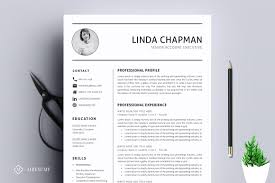 Template For Professional Resume Resume Cv Mega Bundle Resume Templates Creative Market