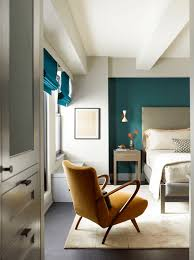turquoise feature wall don u0027t be afraid of dark or dramatic colors