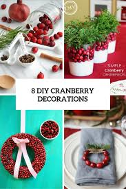 Eye Decorations 8 Diy Eye Catching Cranberry Decorations For Winter And Christmas