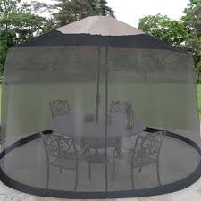 Patio Umbrella With Screen Enclosure Patio Umbrella Mosquito Netting Target
