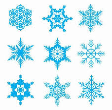 all free clipart snow flakes clip free snowflakes vector set free vector