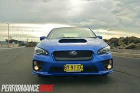 subaru galaxy blue 2015 subaru wrx premium review video performancedrive