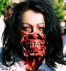 Awesome Makeup For Halloween Zombie Rotten Mouth By Shay Zula I Love Halloween Shay U0027s