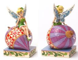 jim shore heartwood creek disney collection tinker bell sitting on