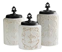 white ceramic kitchen canisters ceramic kitchen canisters sets amazon com