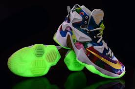 nikeid lebron 13 25k glow in the shoes for sale air