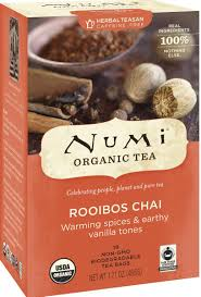 thanksgiving coffee company amazon com numi organic tea rooibos chai caffeine free herbal