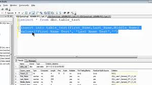t sql insert into new table sql server express 2008 r2 tutorial 4 insert and select data youtube