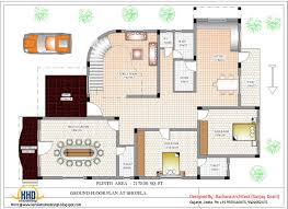 House Plane by Indian Home Design With House Plan 4200 Sqft Home Appliance Home
