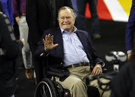 George H W Bush Date Of Birth Former President George H W Bush Wife Barbara Hospitalized