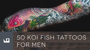 50 koi fish tattoos for