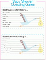baby shower guessing baby shower guess baby gender weight etc cards free