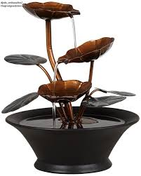 table water fountains indoor top home decor desk waterfall