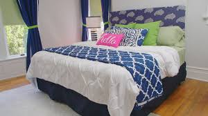 Curtains Made From Bed Sheets How To Style Store Bought Curtains Video Hgtv