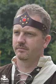 jewelled headband jewelled headband black gem larp inn hoods hats