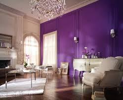 wandgestaltung lila wohnzimmer wandgestaltung lila wände leuchter wohnideen