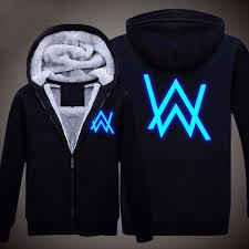 Alan Walker New S Winter Jackets And Coats Faded Alan Walker Hoodie