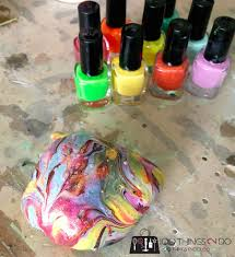marbled rock paperweights crafts for kids 100 things 2 do