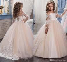 kids wedding dresses kids flower dresses for weddings 2017 pentelei with illusion