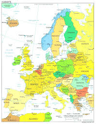 Kaiserslautern Germany Map by Europe Physical Map Freeworldmaps Net Inside Map Op Europe