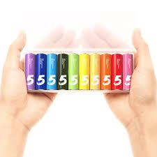 bureau dos d 穗e 彩虹5号电池 10粒装 标准装 电池 小米商城